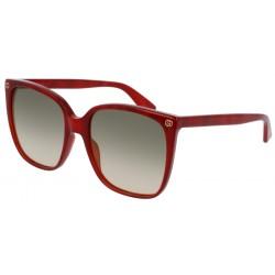 Gucci GG0022S 006 Rosso