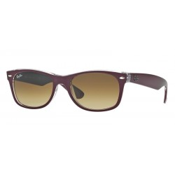 Ray-Ban RB 2132 605485 New Wayfarer Bordeaux Opaco Trasparente