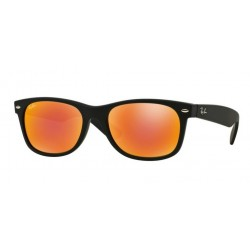 Ray-Ban RB 2132 622-69 New Wayfarer Nero Gommato