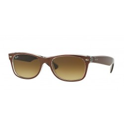 Ray-Ban RB 2132 614585 New Wayfarer Marrone Trasparente