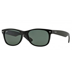 Ray-Ban RB 2132 901L New Wayfarer Nero Lucido