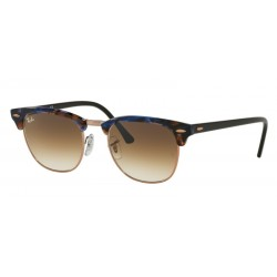 Ray-Ban RB 3016 CLUBMASTER 125651 SPOTTED BROWN/BLUE