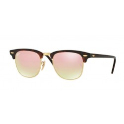 Ray-Ban RB 3016 CLUBMASTER 990/7O SHINY RED/HAVANA