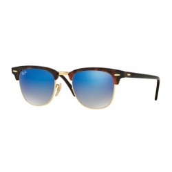 Ray-Ban RB 3016 CLUBMASTER 990/7Q SHINY RED/HAVANA