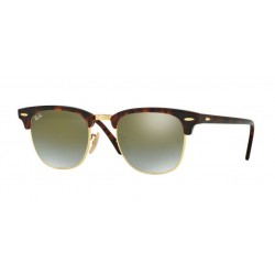 Ray-Ban RB 3016 CLUBMASTER 990/9J SHINY RED/HAVANA