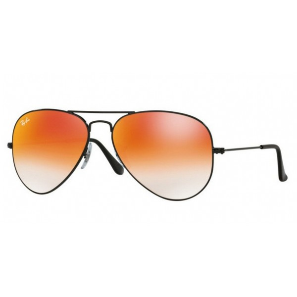 Ray-Ban RB 3025 Aviator Large Metal 002/4W Nero Lucido