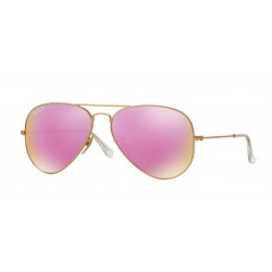 Ray-Ban RB 3025 Aviator Large Metal 112/1Q Oro Opaco