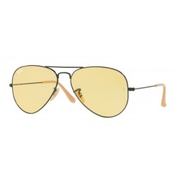 Ray-Ban RB 3025 90664A Aviator Large Metal Nero Opaco