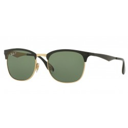 Ray-Ban RB 3538 - 187/9A TOP SHINY BLACK ON GOLD