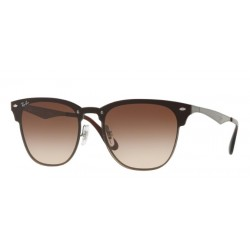Ray-Ban RB 3576N Blaze Clubmaster 041/13 Canna Di Fucile A Strisce
