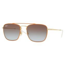 Ray-Ban RB 3588 - 90612W Top D'oro Su Arancione
