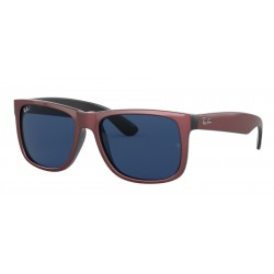 Ray-Ban RB 4165 Justin 646980 Bordeaux Metallico Su Nero