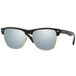 Ray-Ban RB 4175 Clubmaster Oversized 877/30 Demi Nero Lucido