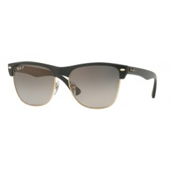 Ray-Ban RB 4175 Clubmaster Oversized 877/M3 Demi Gloss Nero