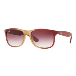 Ray-Ban RB 4202 Andy 63698H Grad Bord On Rubber Lt Pink Tr