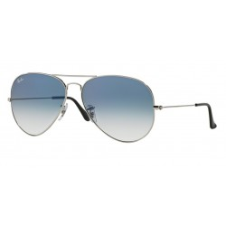 Ray-Ban RB 3025 Aviator Large Metal 003/3F Argento