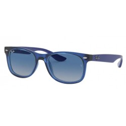 Ray-Ban Junior RJ 9052S Junior New Wayfarer 70624L Blu Trasparente