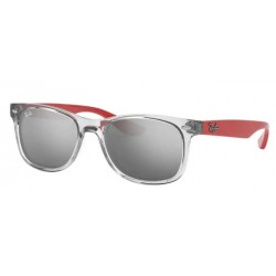 Ray-Ban Junior RJ 9052S Junior New Wayfarer 70636G Grigio Trasparente
