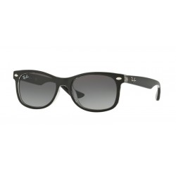 Ray-Ban Junior RJ 9052S Junior New Wayfarer 702211 Nero Opaco Su Trasparente