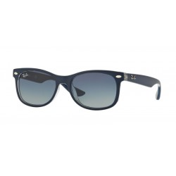 Ray-Ban Junior RJ 9052S Junior New Wayfarer 70234L Blu Opaco Su Trasparente