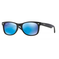 Ray-Ban Junior RJ 9052S Junior New Wayfarer 100S55 Nero Opaco