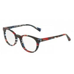 Alain Mikli A0 3063 - 002 Spogliato Blu Rosso Nero