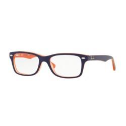 Ray-Ban RY 1531 3762 Arancione Trasparente Top Blu  Junior