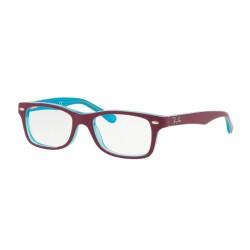 Ray-Ban RY 1531 3763 Azzurro Trasparente Top Fucsia  Junior
