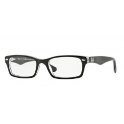 Ray-Ban RX 5206 - 2034 TOP BLACK ON TRANSPARENT