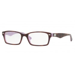 Ray-Ban RX 5206 - 5240 TOP HAVANA ON OPAL VIOLET