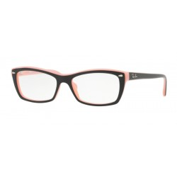 Ray-Ban RX 5255 - 5024 Top Nero Su Rosa