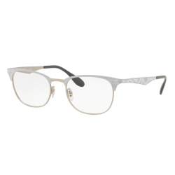 Ray-Ban RX 6346 - 3023 Bianco Opaco Top Opaco Bianco