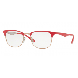 Ray-Ban RX 6346 - 2974 COPPER TOP ON BORDEAUX