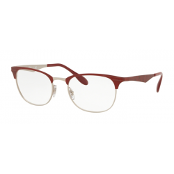 Ray-Ban RX 6346 - 3021 MT SILVER TOP MATTE RED MOVE