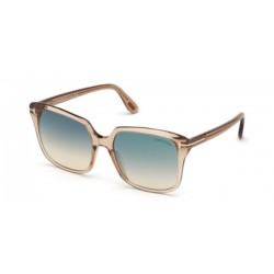 Tom Ford FT 0788 Faye-03 45P Marrone Chiaro